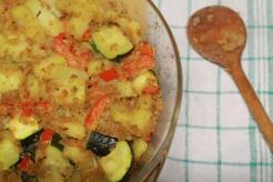 Zukini dan kentang oven baked